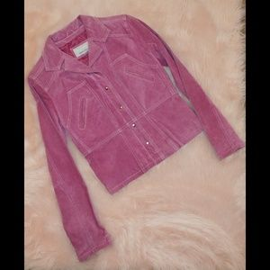 Pink Wilsons leather maxima jacket mint condition